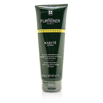 Karite hydra hydrating ritual hydrating shine mask dry hair (salon product) 220129 250ml/8.7oz