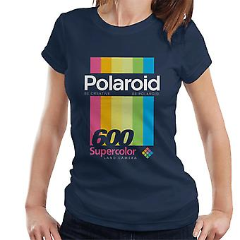Polaroid 600 Supercolour Stripes Naisten's T-paita