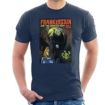 Hammer Horror films Frankenstein bungelen Eye Ball mannen ' s T-shirt