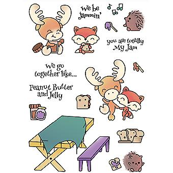 LDRS Creative We Be Jammin' Clear Stamps