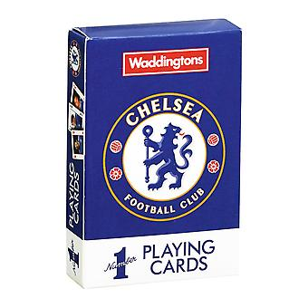 Chelsea FC Waddingtons No.1 Playing Cards