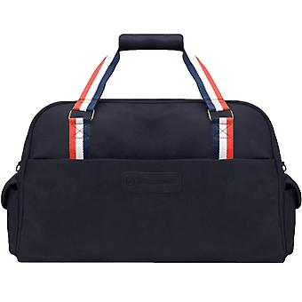 Lambretta Mens Weekend Travel Overnight Holiday Zipped Holdall Duffel Bag - Navy