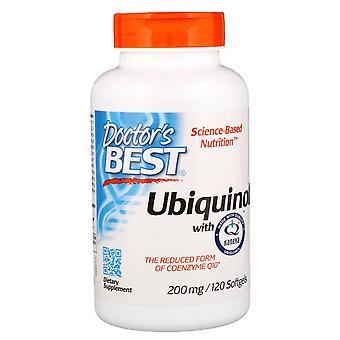 Doctor's Best, Ubiquinol con Kaneka, 200 mg, 120 Softgels