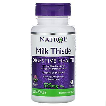 Natrol, Milk Thistle , 525 mg, 60 Capsules