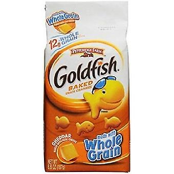 Pepperidge Farm volkoren Cheddar goudvis gebakken Snack Crackers