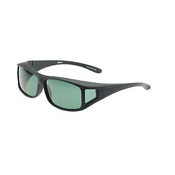 Sunglasses Unisex black with grey lens Vz0001la