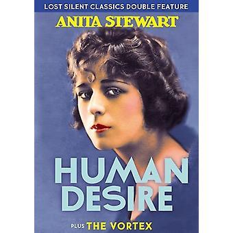 Seltene Stille Klassiker: Menschliche Sehnsucht / Vortex [DVD] USA import