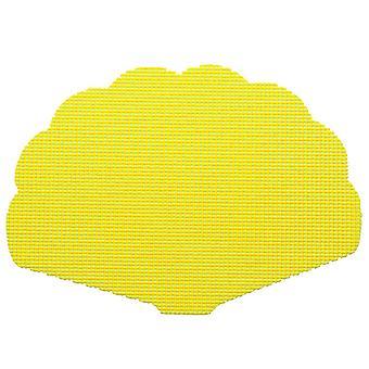 Fishnet New Yellow Shell Placemat Dz.