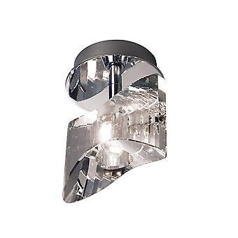 Inspireret Mantra - Kromo - Overflademonteret Loft 1 Light G9, poleret krom