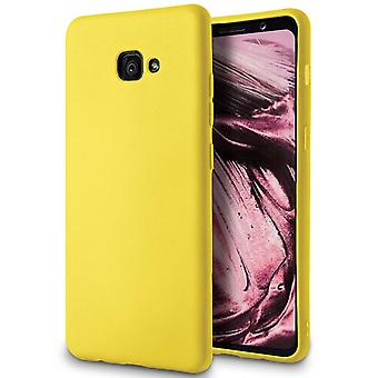 Soft Mobile Protection for Samsung Galaxy A5 (2017) Thin Ultra-Slim Lightweight Silicone Yellow