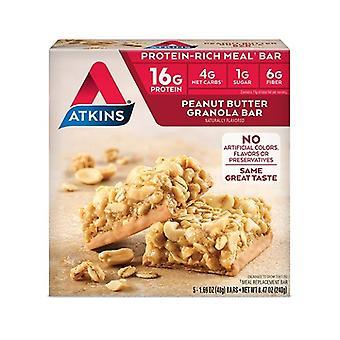 アトキンス食事バー ピーナッツ バター グラノーラ