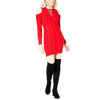 Raten Sie | Allison Cold-Shoulder Pullover Kleid