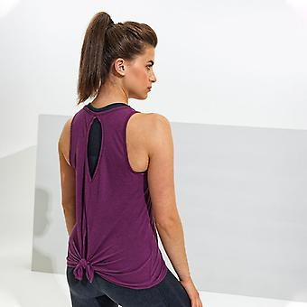 TriDri Women's Tie Back Vest Activewear