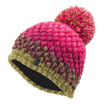 Spyder BERRY Women's Knit Bommel winter ski hoed roze