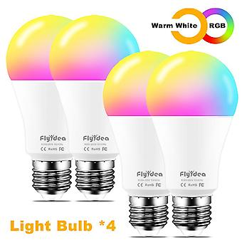 Wifi Lights E27 Smart Led Bulb Neon Replacement-lamp Voice-control Pots Alexa Google Assistant 100w Parallel Indoor Lighting