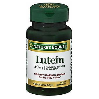 Nature's Bounty Natures Bounty Lutein, 20 mg, 24 X 40 Softgels