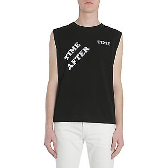 Saint Laurent 501683yb2mg9787 Men's Black Cotton T-shirt