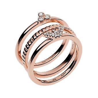 Emporio أرماني خاتم المرأة EG3485221 عاطفي حلقة العرض 56