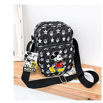 Disney Cartoon Mickey Mouse Shoulder Bag- Women Messenger Bag, Lady Coin Phone