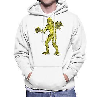 The Creature From The Black Lagoon Full Body Illustration Men's Hooded Sweatshirt