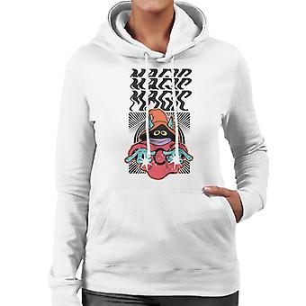 Masters Of The Universe Orko Magic Magic Magic Women's Hooded Sweatshirt