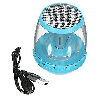 Mini bærbar LED TF-kort Radio AUX Vioce Prompt Bass bluetooth