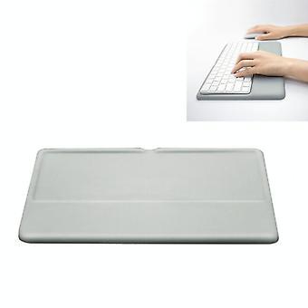 Langattoman näppäimistön tukimuisti Vaahto Silikoni rannelevyn pohja Apple Magic Keyboard 2, Size:S(Harmaa)
