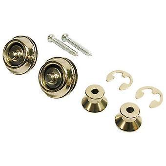 Jim dunlop straplock dual design set - nickel