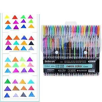 Glitter Gel Highlighter Pen For Writing/drawing/doodling Art Markers