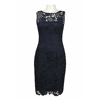 Illusion Neck Lace Overlay Dress
