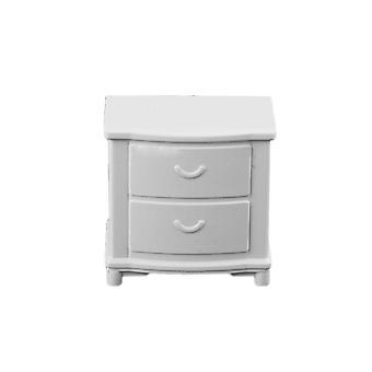 10pcs 1:50 Plastic Bedside Table Cabinet for Sand Table Model DIY Dollhouse