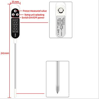 Digital Kitchen Thermometer For Meat Cooking, Food Probe Bbq Electronic Oven