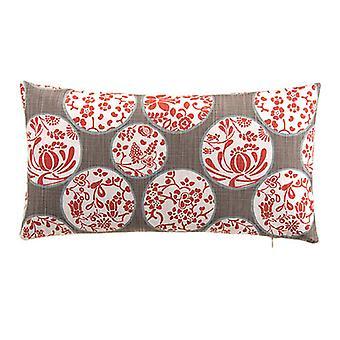 """Imperial Decorative Lumbar Pillow 22""""X12"""", Lather"""