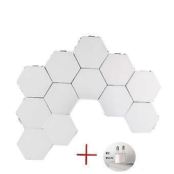 Touch Switch Quantum Led Hexagonal Modular - Nordic Wall Lamp Lights