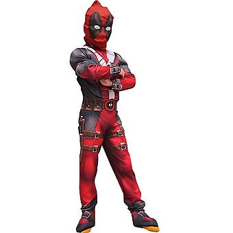 Halloween Cosplay Dead Pool Costume