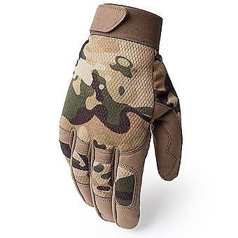 Outdoor Tactical Gloves, Army Military Airsoft Shooting Full Finger Gloves