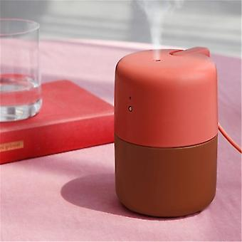 VH 420ml USB LED -merkkivalo Hiljainen ilmanpuhdistus Kosketusohjaus Protable Desktop Ilmankostutin Kotiin