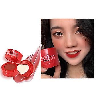 Blusher Powder Heart Face Blush Mineral Pigment Palette Cream Natural Blush