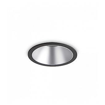 Foco Empotrable Neger / Plata Game 1 Bombilla De Aluminio