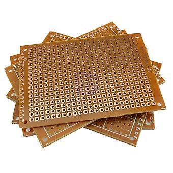 Hole Pitch Prototype Paper Printed Circuit Panel