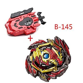 Beyblade Burst With Left Right Two Way Wire Launcher, Metal Booster Top