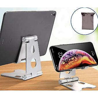 Aluminium Adjustable Fold Holder Tablet Stand For Ipad Samsung Xiaomi Tablet