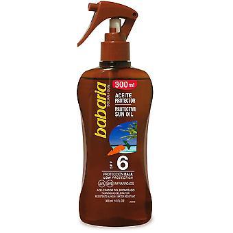 Babaria Huile de tournesol carotte SPF 6 Oil Spray 300 ml