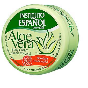Instituto Español Crema Corporal con Áloe Vera 400 ml