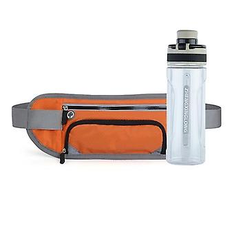 Men-women Running Waist Belt Bag Marathon With Water Bottle For Sports Bag