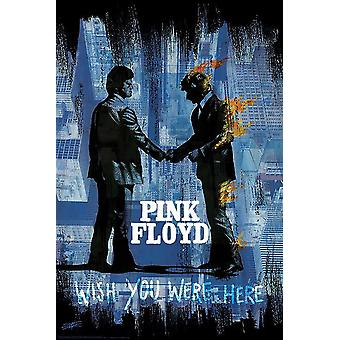 Pink Floyd Poster Wish You.. Stephen Fishwick  91,5 x 61 cm