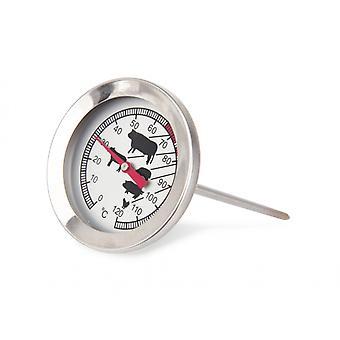 fleischthermometer 5,5x5,5x12 cm Metall