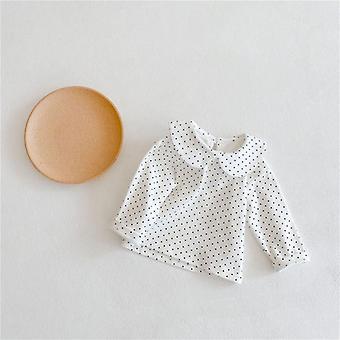 Soft Baby Blouse Spring Autumn Long Sleeve Shirt