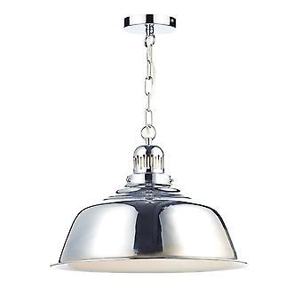 Dome Vedhæng Light poleret Chrome, 1x E27