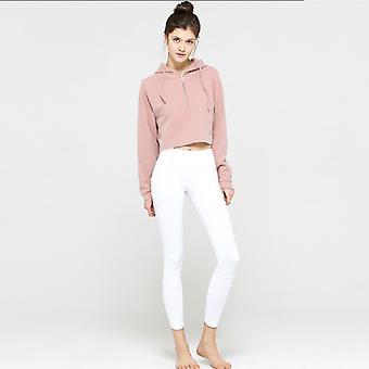 SPORX Women's Active Zip Hoodie Loose Pink